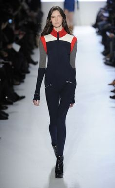 Haylie Hasbrook, Lacoste Autumn/Winter 2012 collection, NYC Fashion Week: this is my friend's daughter! She looks stunning!