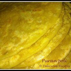 Indian Sweet Flat Bread