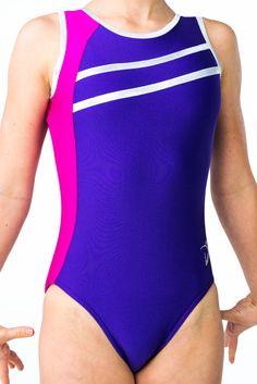Di's Designs - Sporty - Purple - $75.24 - #leotard #gymnastics #gymnast #gymsuit