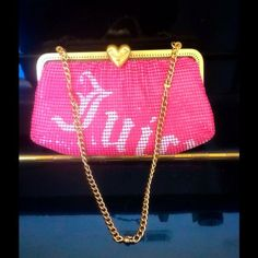 Adorable Rare Juicy Couture Clutch