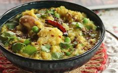 Pressure Cooker Bengali Khichuri [Vegan, Gluten-Free] | One Green Planet. This recipe is perfect for wet rainy days, lazy weekend days and almost anytime the heart desires. A khichuri or khichri is an essential melange of lentils and rice. In this Bengali khichuri, the rice and lentils dissolve into a soft porridge-like texture. This is complemented with soft vegetables that retain their integrity.
