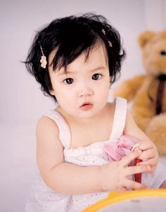 Asian babies are so adorable.