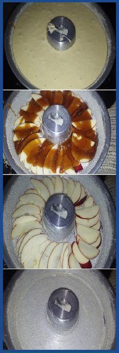 Torta de manzana invertida q dicen? #tortamanzana #manzana #invertida #frutas #dulces #pan #panfrances #panettone #panes #pantone #pan #recetas #recipe #casero #torta #tartas #pastel #nestlecocina #bizcocho #bizcochuelo #tasty #cocina #chocolate Si te gusta dinos HOLA y dale a Me Gusta MIREN...