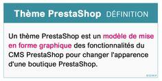 #prestashop #ecommerce #developpeurprestashop #themeprestashop Front Office, Les Themes, Ecommerce, Chart, E Commerce