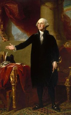 George Washington  Took office - April 30, 1789  Left office - March 4, 1797. The first president, independent party. His vice president was John Adams.