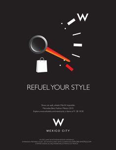 W Hotels Magazine Ad