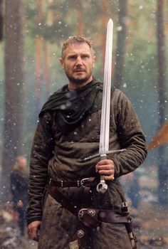 Keelin's dad, cross between this Liam Neeson and Rob Roy version