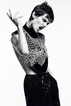 ☆ Saskia de Brauw | Photography by Daniel Jackson | For Vogue Magazine Germany…