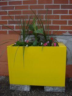 filing cabinet turned planter!