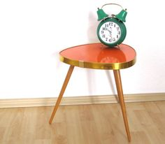 Mid Century coffee table Germany 1960s bright by vintageekho, €75.00