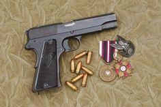 The Polish Radom Vis-35 ^ https://de.pinterest.com/davidjohnst1204/radom-p35-9mm-pistol/