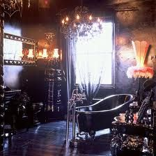 Gothic must haves on pinterest goth ouija and skull for Gothic bathroom ideas