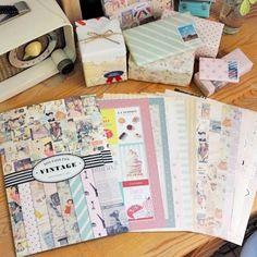 Vintage Wrapping Kit