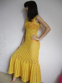 Bom dia...bem na cor do Sol, este vestido é maravilhoso. Russo ...fica a dica para quem quiser fazer, eu estou pensando seriamente em come...