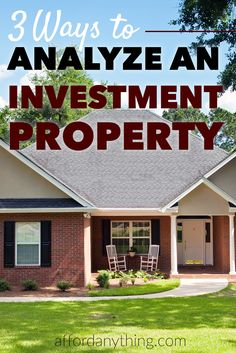 Learn how to apply the 3 formulas I use to analyze real estate investments to see whether or not a property is a good deal - and learn what calculations to avoid. Should You Invest in This Rental Property? Sven Hoppe sven_hoppe a immo Learn how to Real Estate Rentals, Selling Real Estate, Real Estate Tips, Commercial Real Estate Investing, Houston Real Estate, Real Estate Information, Real Estate Business, Real Estate Investor, Real Estate Marketing