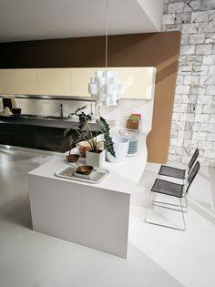 #cucina #cucine #kitchen #kitchens #modern #moderna #gicinque #charme www.gicinque.com/...
