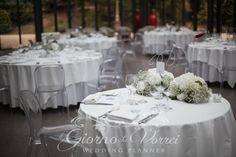 centrotavola rose e garofani bianchi - Cerca con Google