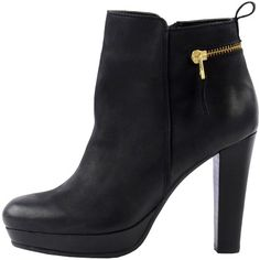 3341580d39fc Stiefeletten mit Reißverschluss - Schöne schwarze Stiefeletten von Sacha.  Diese Stiefeletten haben ein trendiges Design und passt zu vielen Looks!