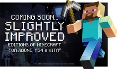'Minecraft' arrives on Xbox One and PlayStation 4 this August
