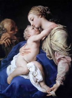 The Sacred Family by Pompeo Batoni