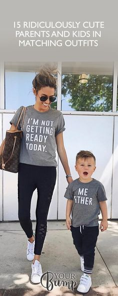15 Ridiculously Cute Parents and Kids in Matching Outfits