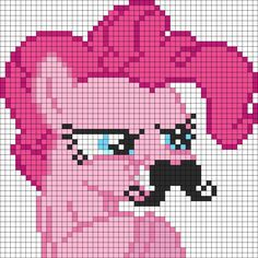 Kandi Patterns for Kandi Cuffs - Characters Pony Bead Patterns