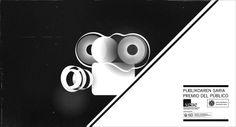 Pieza para insertar antes de cada película que opta al premio del público del festival de cine de San Sebastian, está basada en la abstracción geometrica de tres elementos: Proyector + Publico + Votación  Intro to insert before each film that opts to the Audience Award of the San Sebastian film festival, based on geometric abstraction of three elements: Audience + Projector + Votes