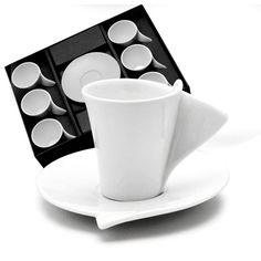 Jogo para Café Lyon Xícara com Pires 6 peças - Wolff - Conjunto de Xícaras no Extra.com.br