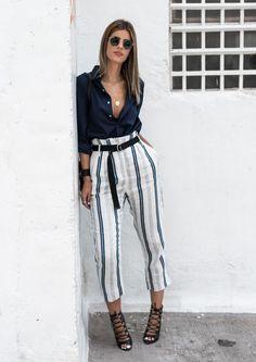 Los pantalones de rayas son tus nuevos vaqueros. (Ms. Treinta)