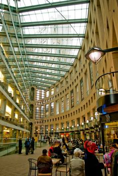 Inside the Vancouver Library - could work here
