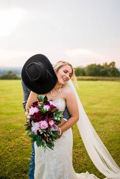 This is a beautiful bouquet made with wine peony and pink peonies and greenery giving this bouquet a wild flower look Fake Wedding Flowers, Burgundy Wedding Flowers, Fall Wedding Bouquets, Bride Bouquets, Budget Bride, Silk Flower Bouquets, Beautiful Bride, Dream Wedding, Pink Peonies