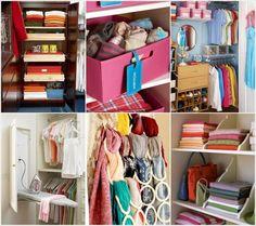 Bedroom Closet Organization Hacks ♥♥♥♥ #Fashion #Trusper #Tip