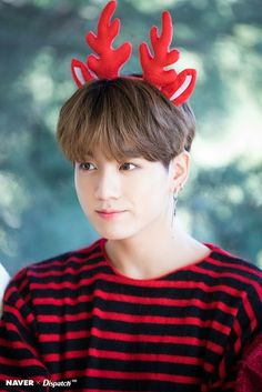 """Flawless visual of BTS's """"maknae"""" Jungkook BTS collaborated with Dispatch to produce sweet photos as a special Christmas present for fans. Who: Jungkook (BTS) Jungkook Selca, Namjoon, Taehyung, Jungkook Oppa, Bts Bangtan Boy, Seokjin, Hoseok, Jungkook 2018, Jung Kook"""