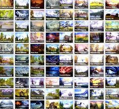 Someone Organized All 403 Of Bob Ross' Paintings On One Happy Little Website