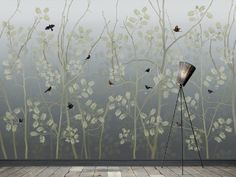 Great idea to use with MagScapes magnetic wallpaper and custom magnets. Scandinavian Surface LAST EMPEROR kleuren) Last Emperor, Wall Organization, Inspiration Wall, Designer Wallpaper, Deco, 2 Colours, Scandinavian, Bird, Painting