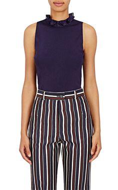 Nina Ricci Rib-Knit Sleeveless Sweater | Barneys New York