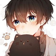 Cute Anime Profile Pictures, Cute Anime Pics, Cute Anime Boy, Anime Boys, Profile Pics, Couples Anime, Anime Couples Drawings, Friend Anime, Anime Best Friends