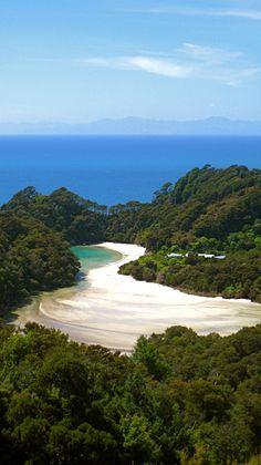 Abel Tasman National Park - New Zealand (by Mickaël T. The Beautiful Country, Beautiful World, Beautiful Islands, Wonderful Places, Beautiful Places, Amazing Places, Abel Tasman National Park, Parque Natural, New Zealand Landscape