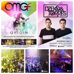 5/1 #Friday. Tonight we launch #ALL #NEW #OMGFridays  @ #The #OriginSF  FREE B4 1030pm Entry > http://eepurl.com/Ku71b VIP/Table 408-529-1804  Following 5/2 #Saturday #Dzeko & #Torres performs @ #RubySkyeSF   FREE B4 12am or Tickets  > http://tinyurl.com/DZTORubySkyeSF   #Nightlife #OMGF #OMGFridays #Fridays #Saturday #SoulKrush #DanceMusic #SF #SanFrancisco #Party #Scene #EDM #HipHop #Trap #Music #LifeStyle #Gathering #Korean #Asian #Mixed #Nightclub #소크 #소울크러쉬 #샌프란 #엘에이 #클럽 #파티 #유학생 #오리진…