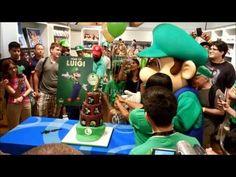 Luigi's 30th Anniversary Celebration (The Year of Luigi) at Nintendo World
