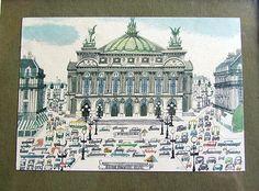 L'Opera: A Parisian Sasek postcard, © Editions Hazan