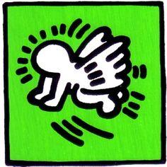 """Oggi è il """"compleanno"""" di Keith Haring  http://it.wikipedia.org/wiki/Keith_Haring"""