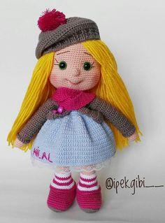 Kids Patterns, Crochet Toys Patterns, Stuffed Toys Patterns, Crochet Dolls, Doll Patterns, Crochet Baby, Blanket Crochet, Cat Crafts, Diy And Crafts
