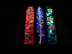 Stunning John Piper Stained Glass Windows at St Bartholomew Church Nettlebed St Bartholomew Church, John Piper, Window Design, Stained Glass Windows, Friendship Bracelets, Youtube, Stained Glass Panels, Stained Glass, Youtubers