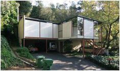 Hale House by architect Craig Ellwood :: Beverly Hills