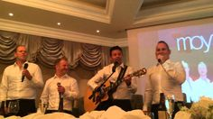 Moyzone featuring Ryan Kelly (Celtic Thunder) at a wedding reception