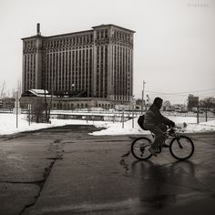 ET at Michigan Central Station