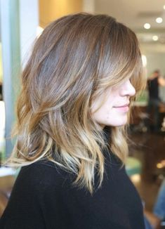 20 Fabulous Long Layered Haircuts WiTop 15 Long Blonde Hairstyles (don't miss this)! Top 15 Long Blonde Fabulous Long Layered Haircuts With Bangs The Top 5 Haircuts for Women in Their Medium Hair Styles, Short Hair Styles, Hair Medium, Bob Styles, Medium Hair Cuts For Women With Bangs, Shoulder Length Hair Cuts With Layers, Layered Haircuts With Bangs, Long Choppy Haircuts, Choppy Lob