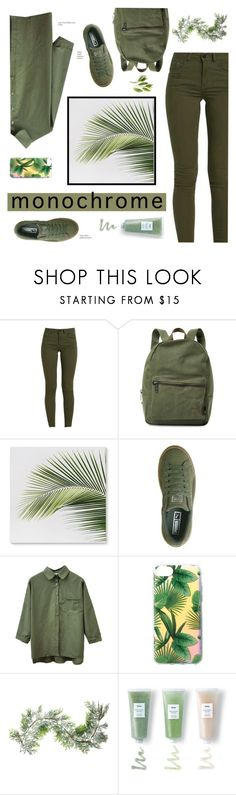 """""""One Color, Head to Toe"""" by zzzombie ❤ liked on Polyvore featuring Herschel Supply Co., Puma, Ankit, Northlight Homestore and Huxley"""