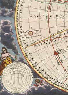 "jaded-mandarin: "" The Harmonia Macrocosmica of Andreas Cellarius. Detail. """